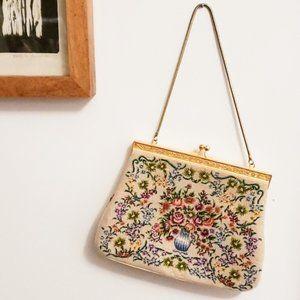 Vintage : Tapestry Mini Purse